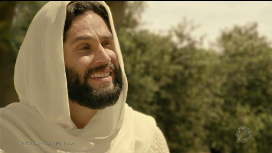 Dudu Azevedo como Jesus, Novela Jesus