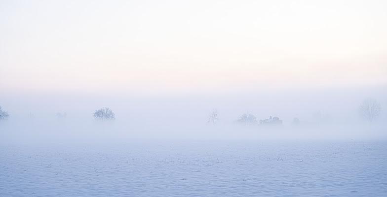 Alba tra nebbia e neve. di Daimon