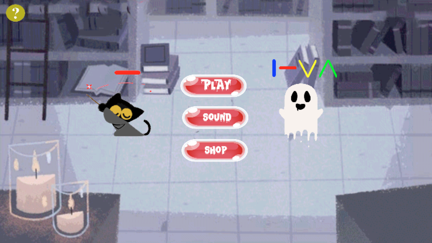 Magic cat - Halloween- screenshot