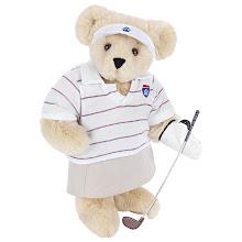 Photo: Lady Golfer Bear