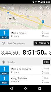 Hamilton HSR Bus - MonTransit - náhled