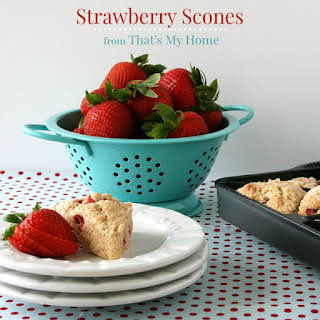 Strawberry Scones.
