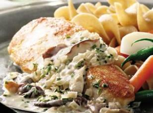Chicken Breast With Mushroom Cream Sauce Recipe