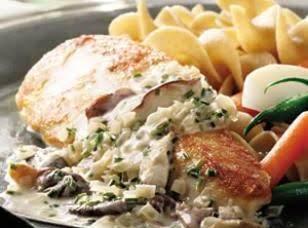 Chicken Breast With Mushroom Cream Sauce Recipe