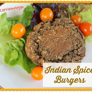 Indian Spice Burgers.