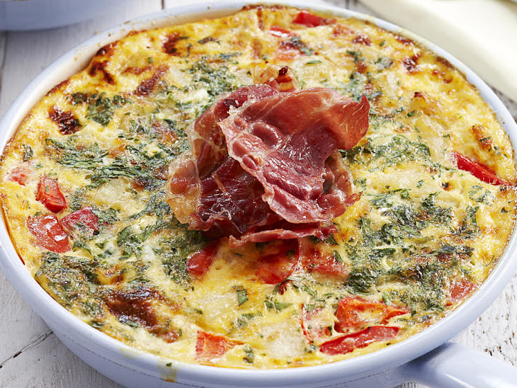 red pepper and dill potato frittata broccolini and potato frittata ...