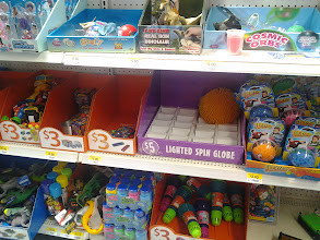 Photo: As you can see the toy section was pretty picked over for small toys.