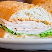 Turkey on French Roll (Half Sandwich)