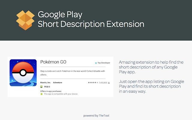 ASO - Google Play Short Description Viewer