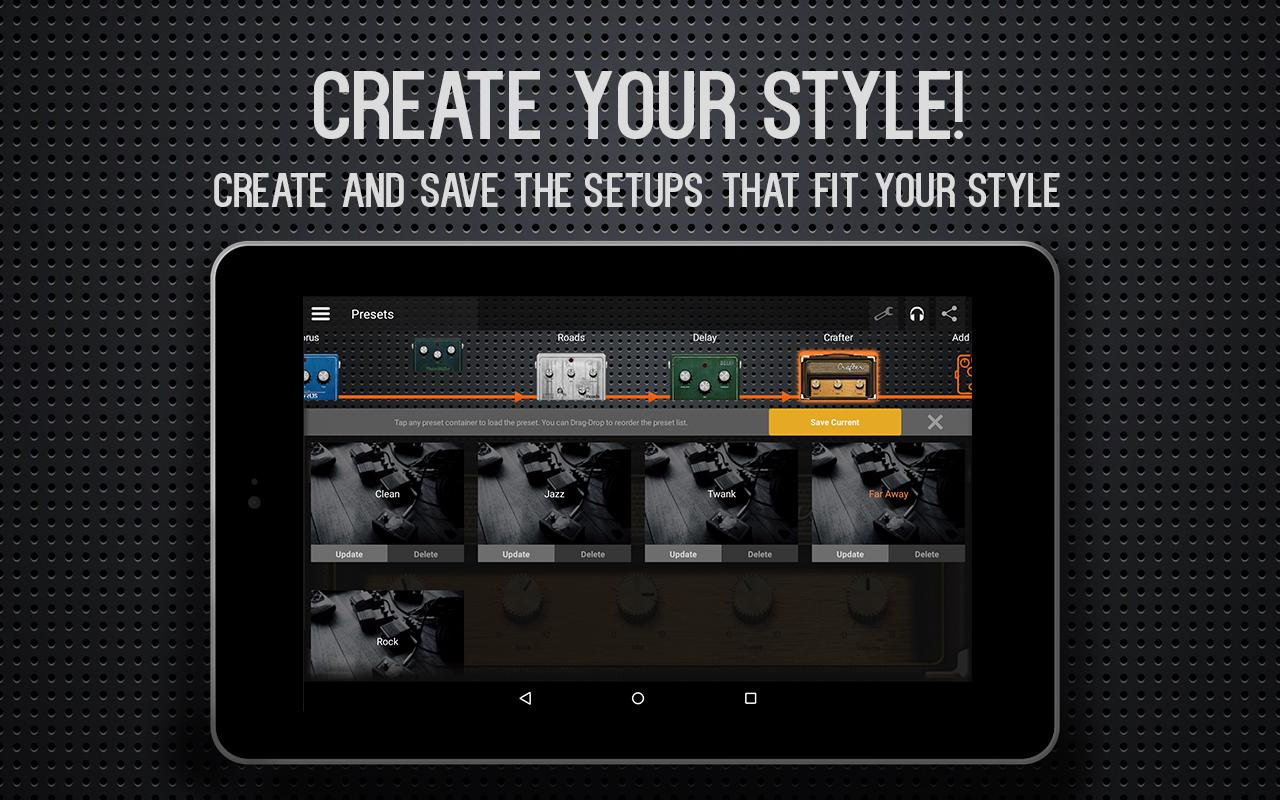Guitar Amp & Effects - deplike- screenshot