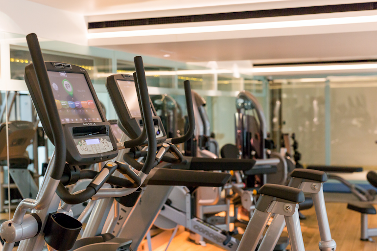 Gym at Town Hall Hotel & Apartments