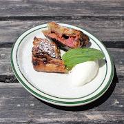 Ontario Rhubarb & Strawberry Pie