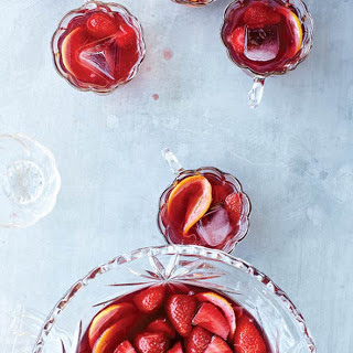 Strawberry Sangria.