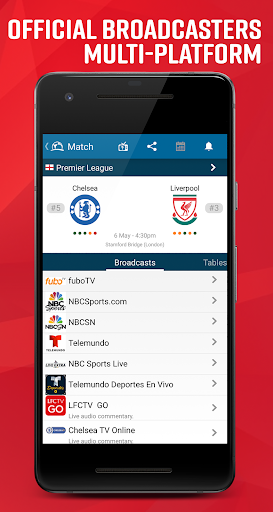 Live Soccer TV - Scores & Stats 4.1.3.4 Android screenshots 2