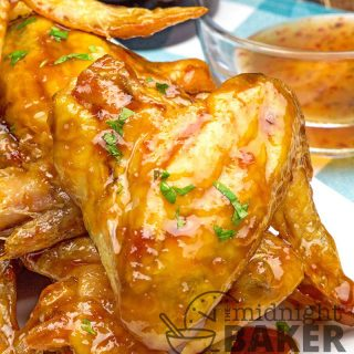 Pineapple Glazed Wings