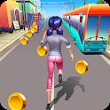 Railway Train lady Surfs icon