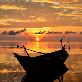 hening by Pras Manan - Landscapes Sunsets & Sunrises