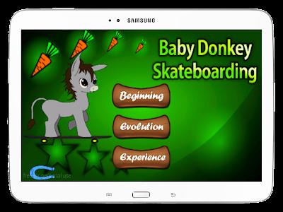 Baby Donkey Skateboarding screenshot 9