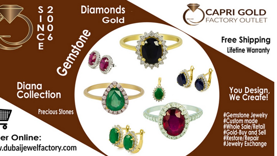 Capri Gold Dubai Jewel Factory Outlet Jewellery