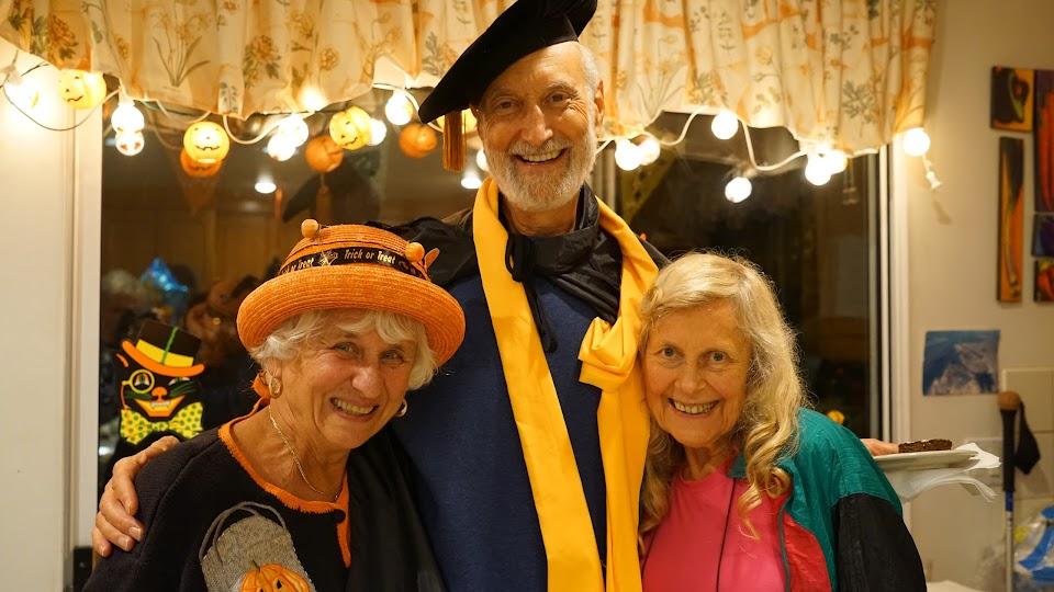 Left to rt (Elizabeth Bechtold, Michael Klaper M.D., Shirley Potasz, M.A.)
