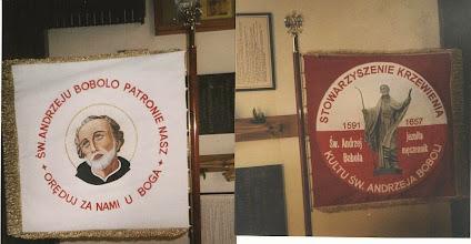 Photo: Sztandar SKKAB Warszawa Mokotów. fot. jg, 2003 r.