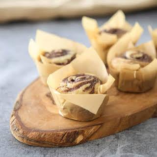 Banana Nutella Muffins.