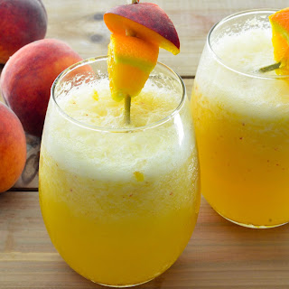 Peach Wine Smoothie