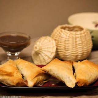 Ethiopian Sambussa -- Healthy Baked Cousins Of Samosas With Phyllo Dough!.