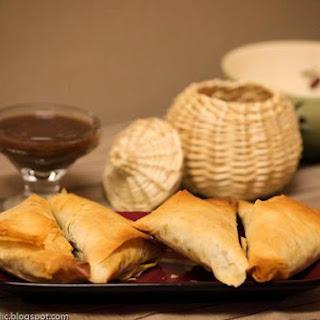 Ethiopian Sambussa -- Healthy Baked Cousins Of Samosas With Phyllo Dough!.