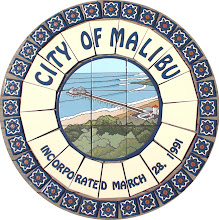Photo: Medallion, Deco Tiles & Doner Tiles Commissioned by the City of Malibu, CA