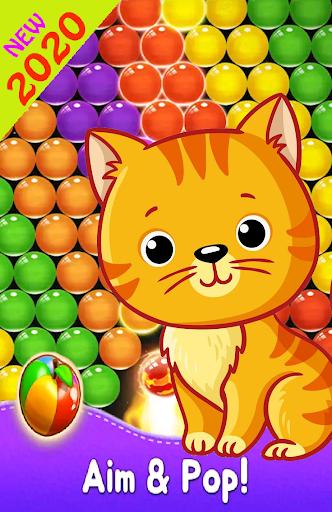 Bubble New Cat android2mod screenshots 4