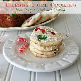 Candied Cherry Noel Cookies