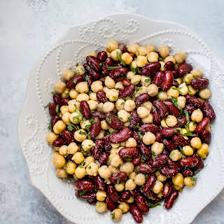 Kidney Bean Chickpea Salad Recipes.