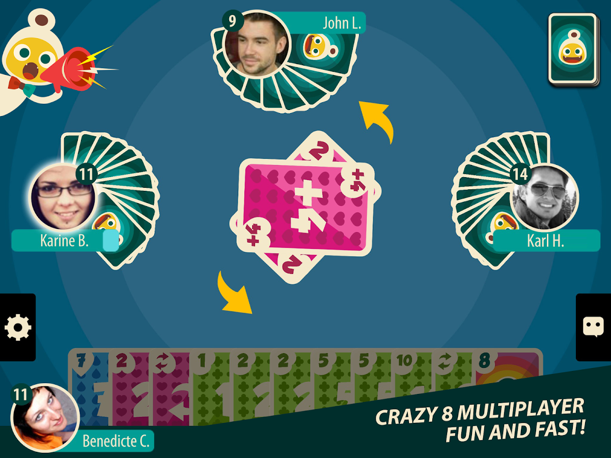 Crazy 8's: Android app ( ★, 5,+ downloads) → Play crazy 8's online or against the computer. This game is an adaption of the #1 dutch version of crazy 8's. Have /5(27).