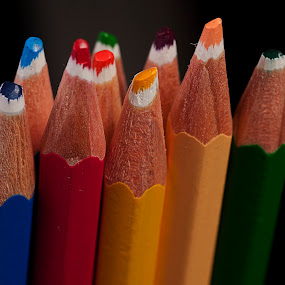 Colors by Cristobal Garciaferro Rubio - Artistic Objects Still Life ( pencil, wood pencil, wood, colors, color pencil )