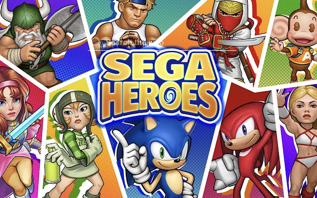 Sega Heroes HD Wallpaper Tab Theme