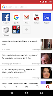 Opera Mini - fast web browser- screenshot thumbnail