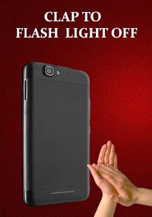 flashlight on clap apps on google play