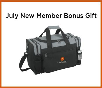 ClubSport San Ramon - July 2019 New Member Bonus Gift