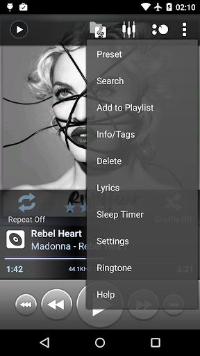 "Плеер ""PowerAMP"" для планшетов на Android"