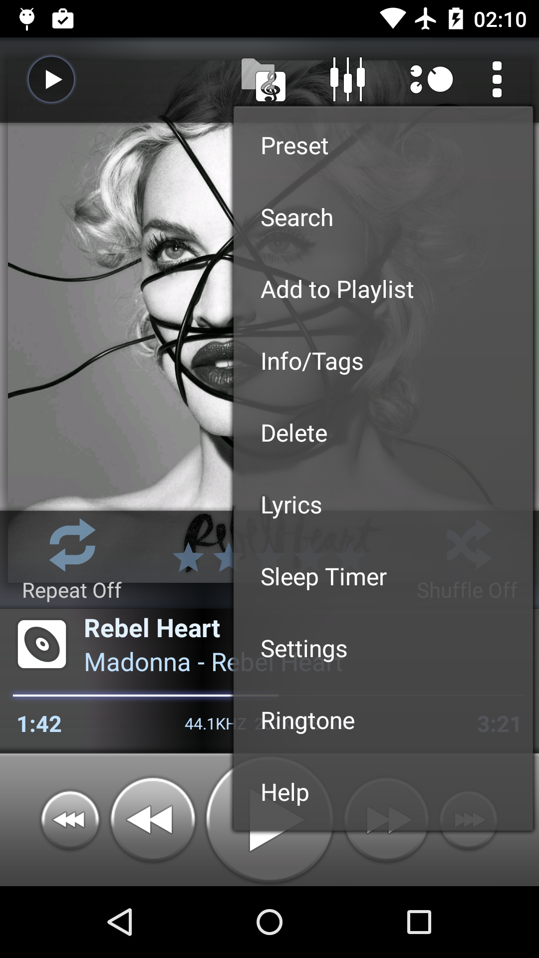Poweramp Music Player (Trial) screenshot #2