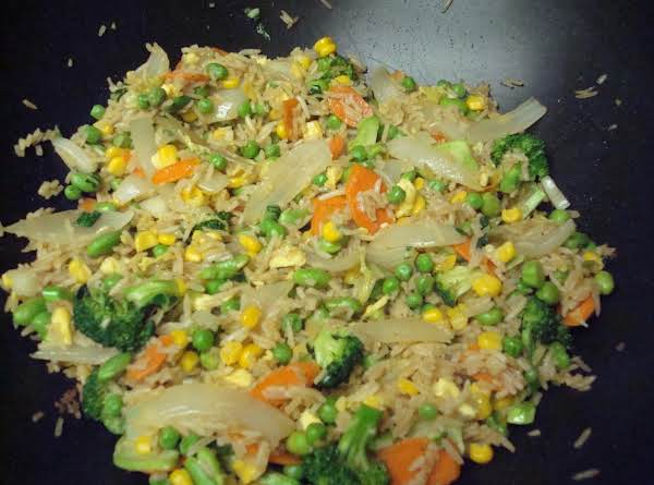 Vegetable Stir Fried Rice Recipe