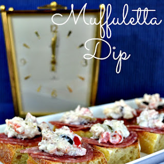 Slow Cooker Muffuletta Dip
