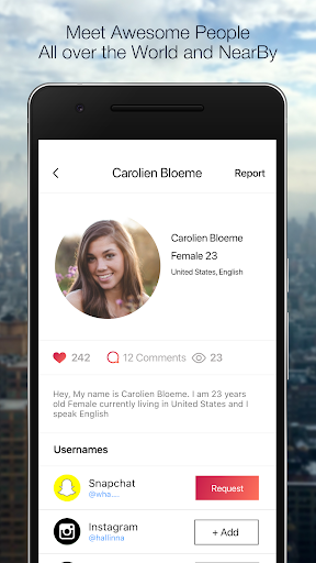 Add friends on Snapchat , KIK & Instagram 10.5 Screenshots 3