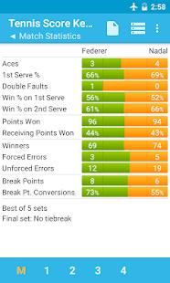 Tennis Score Keeper- screenshot thumbnail