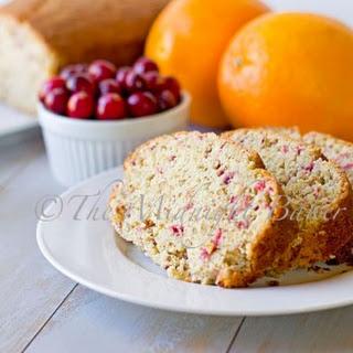 Sylvia's Cranberry Orange Bread