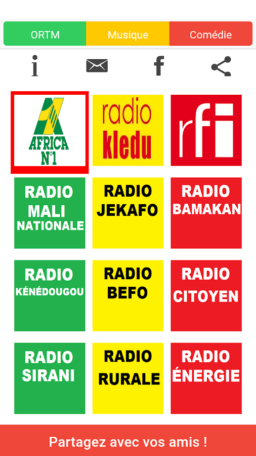 Radio Mali- screenshot