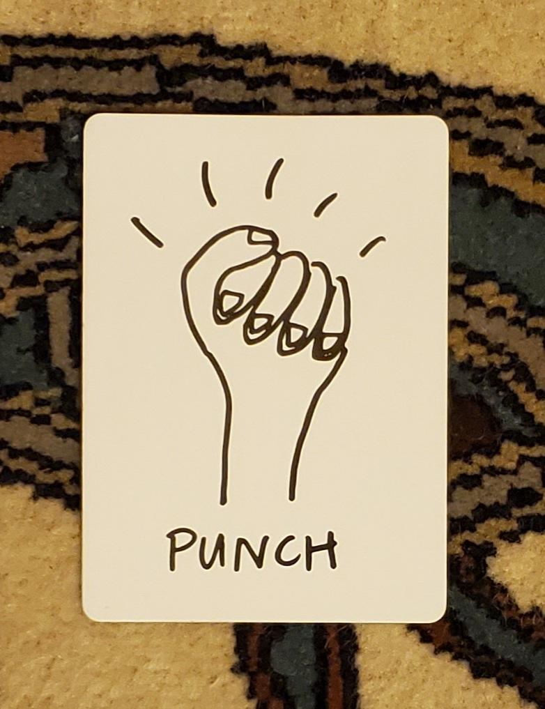 punch tarot card