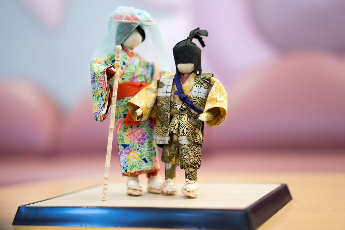 和紙人形「安寿と厨子王」