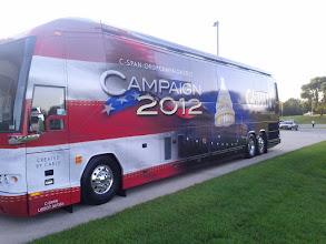 Photo: CSPAN bus